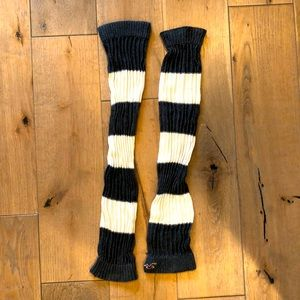 Hollister Stripped Leg Warmers